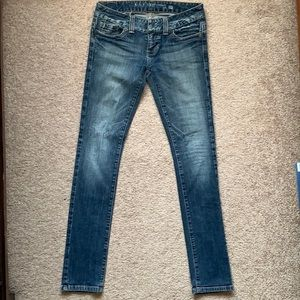 Guess skinny jeans, size 27